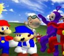 SM64 Bloopers: Where the Wild Teletubbies are