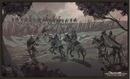 Ser Artys y los Ándalos luchan contra los Primeros Hombres del Valle HBO.png