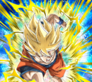 Proof of Tough Trainings Super Saiyan Goku