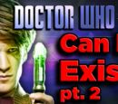 Can a Doctor Who Doctor ACTUALLY EXIST? (pt. 2, Time Travel)