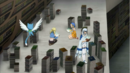Lucy, Levy and Yukino investigate in library.png