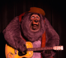Country Bear characters