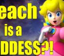 Mario's Princess Peach is Really a Powerful Goddess?!