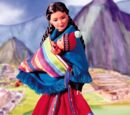 Peruvian Barbie Doll (21506)
