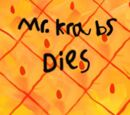 Spongebob Squarepants: Mr. Krabs Dies