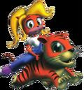 Crash Bandicoot 3 Warped Coco Bandicoot Pura.png