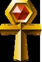 Crash Bandicoot 3 Warped Gold Relic.png