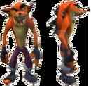 Crash Tag Team Racing Evil Crash Bandicoot.png