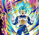 Uncontrollable Anger Super Saiyan God SS Vegeta