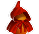 Little Red Furry Cap