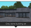 Grey Stone Building Set (Zeta-Designs)
