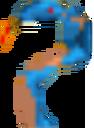 Crash Bandicoot 2 N-Tranced Blue Cobra.png