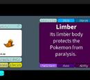 Limber (Ability)