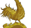 Year of the Rooster Statue