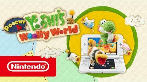 Poochy & Yoshi's Woolly World – Tráiler de lanzamiento (Nintendo 3DS)