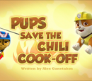 Pups Save the Chili Cook-Off