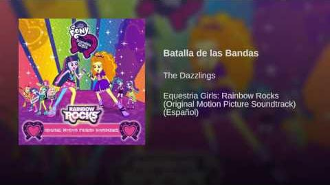 Canciones de Equestria Girls: Rainbow Rocks