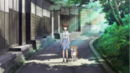 Maho and her dog.png