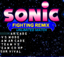 Sonic Fighting Remix: Unlimited Match