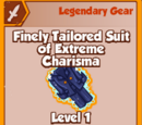 Finely Tailored Suit of Extreme Charisma (Legendary)