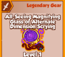 All-Seeing Magnifying Glass of Alternate Dimension Scrying (Legendary)