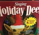 Singing Holiday Deer