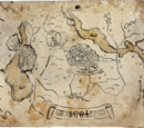Old map of Toussaint