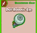 Dull Robotic Eye