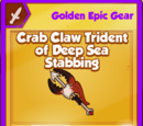 Crab Claw Trident of Deep Sea Stabbing