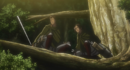 Bertholdt and Ymir see the Titans running.png