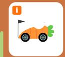Black carrot kart