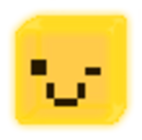 Ghost 1.0 Emoticon cubewink.png