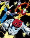 Killer Clowns (Earth-616) from Rocket Raccoon Vol 1 1 001.png