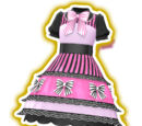 Classic Lady Pink Ribbon Coord
