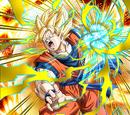 Ecstatic Combat Super Saiyan Goku