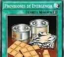 Provisiones de Emergencia