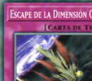 Escape de la Dimensión Oscura