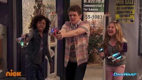 "Showdown at the Movie Store! - ""Henry Danger"" - ""Stuck in Two Holes"" - Dan Schneider"