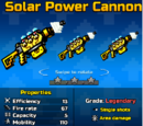 Solar Power Cannon (PG3D)