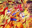Fateful Strike Super Saiyan God Goku