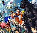 Godzilla vs Anime