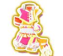 Neon Drop Orange Cyalume Coord