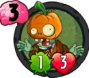 Pumpkin Head Zombie (PvZH)