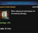 Superior Forceful Tactics