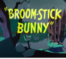 Broom-Stick Bunny