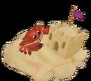 Petit crabe géant