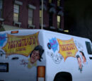 Camioneta de Bebop y Rocksteady