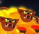 Трехглазые огненные коты