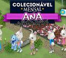 Ana, a Coelha Angorá – Colecionável Mensal de Abril 2017