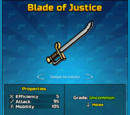 Blade of Justice